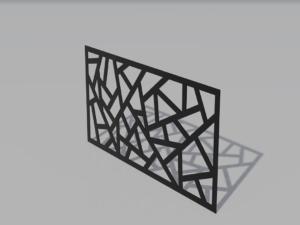 Panel ogrodzeniowy Geometric1