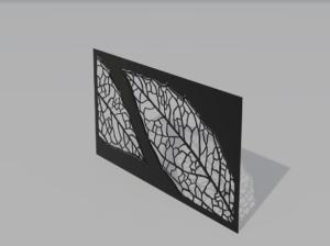Panel ogrodzeniowy Leaf
